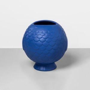 NWT Opalhouse blue stoneware vase